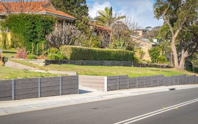 The Rise of the Concrete Sleeper retaining wall
